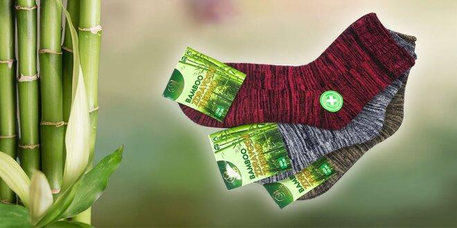 Bambusové termo ponožky: 3 alebo 6 párov!
