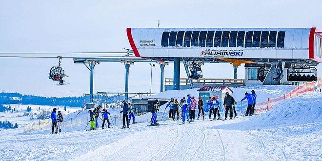 Skipasy do Bukowina Tatrzańska – Rusiń ski