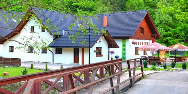 Wellness pobyt s polpenziou v Penzióne Bystrinka **