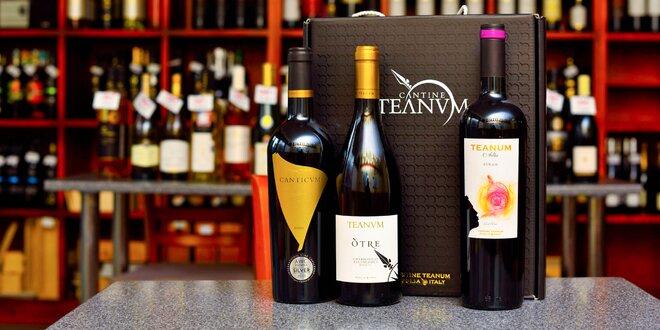 Vína v darčekovom balení
