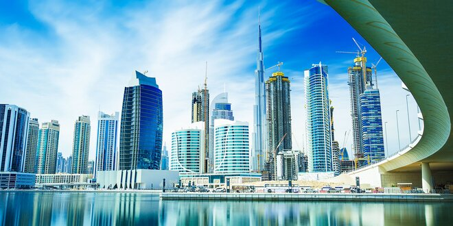 Pobyt v Dubaji+raňajky, dieťa do 6 r. zdarma!