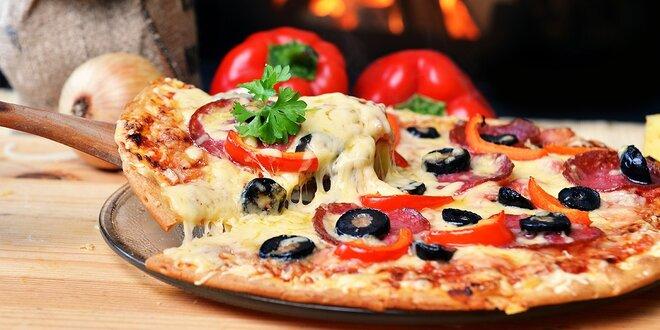 Chrumkavá pizza v Pizzerii Allegro