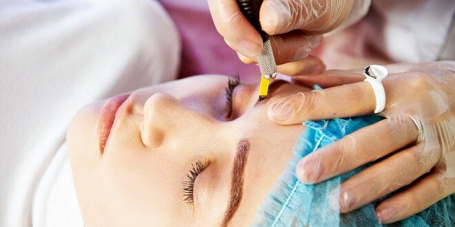 Permanentný make-up obočia - 5D microblading