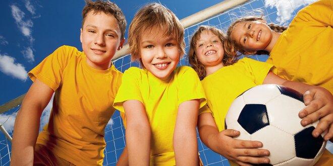 Loptový kemp v Zemnom pre všetkých mladých futbalistov