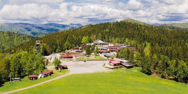 Jarný wellnes pobyt na 3 dni v Hoteli Šachtička*** v Nízkych Tatrách