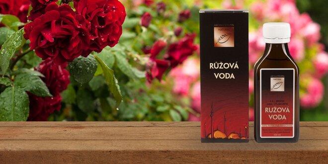 Ružová voda - vôňa ruží do kuchyne i na pleť