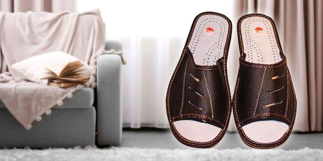 Pohodlné pánske papuče