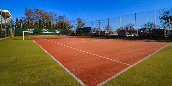 Prenájom tenisového kurtu na 1 hodinu