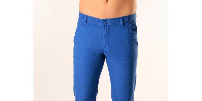 Pánske žiarivo modré nohavice SixValves