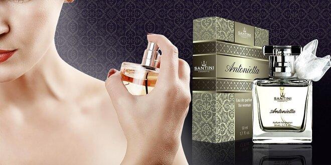 Žiarivá kolekcia parfumov Santini,vôňa luxusu