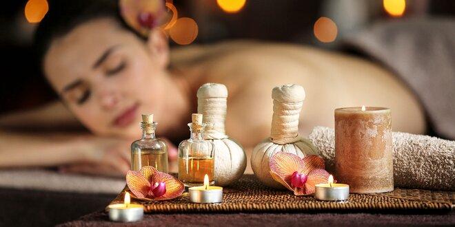 Ajurvédska olejová masáž celého tela