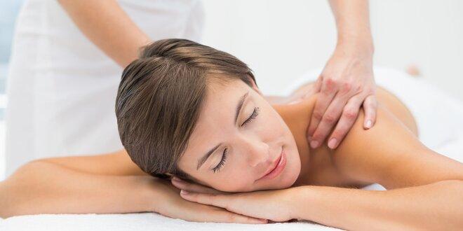 Uvoľňujúca klasická či reflexná masáž