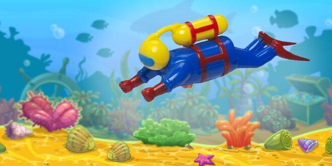 Pohyblivé hračky do vody