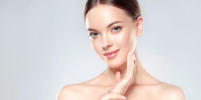 Hĺbkové čistenie pleti či masáž tváre a krku