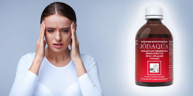 100% prírodný jód - pomôže Vám s jarnou únavou, až 200 denných dávok !