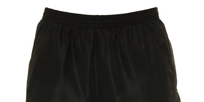 8799a7aef0e44 Pánske čierne krátke nohavice s bielym logom Head   Zlavomat.sk