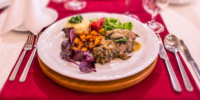 Jahňacie hody: 4-chodové degustačné menu