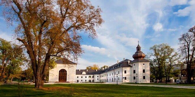 Luxusný WELLNESS & SPA pobyt v barokovom kaštieli Château Appony****