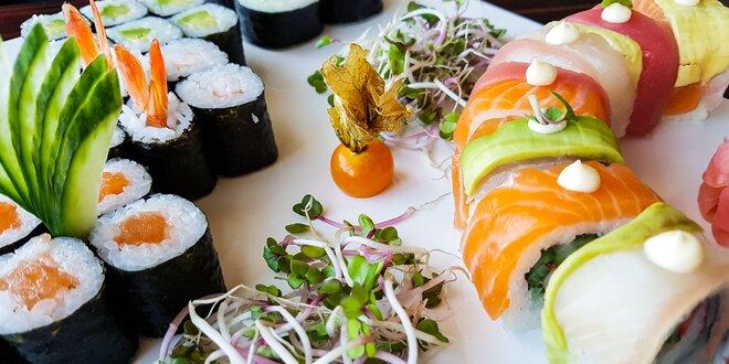 Jarný sushi set (34 kúskov) v SUSHIHANIL