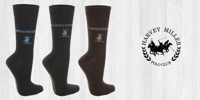 Elegantné značkové ponožky pre pánov