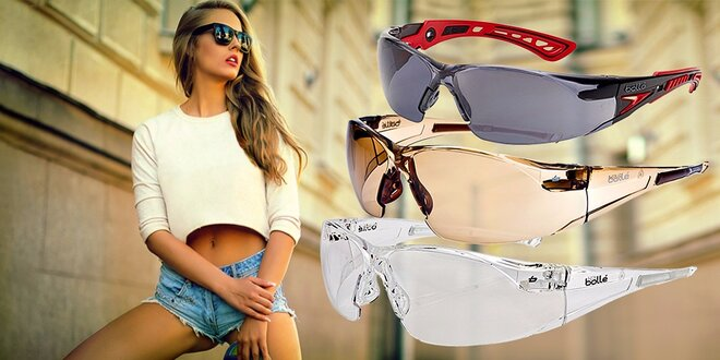 Štýlové okuliare športového dizajnu značky Bollé safety