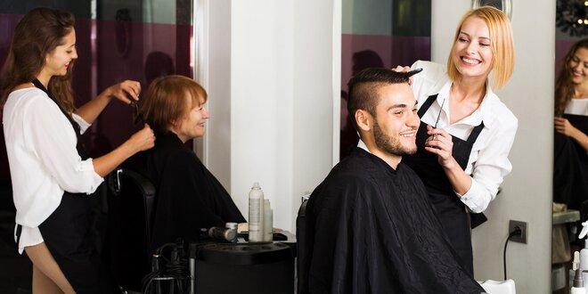 Strih a farbenie vo vlasovom štúdiu Shape!