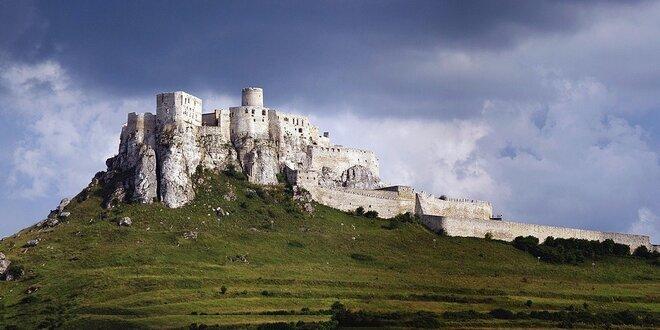 Relax pod Spišským hradom s polpenziou