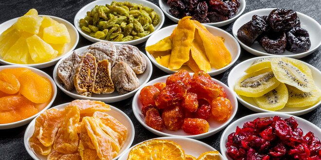 Sušené ovocie: zdravá mňamka pre každú príležitosť