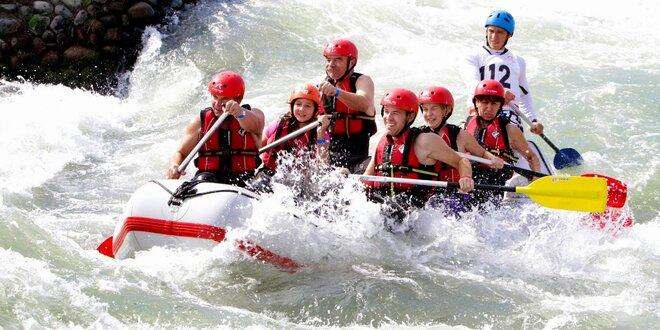 Rafting, jazda na štvorkolke alebo vodnom skútri!