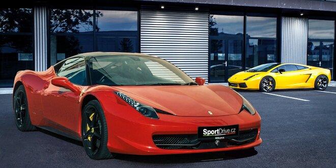 Jazda vo Ferrari 458 Italia alebo Lamborghini Gallardo
