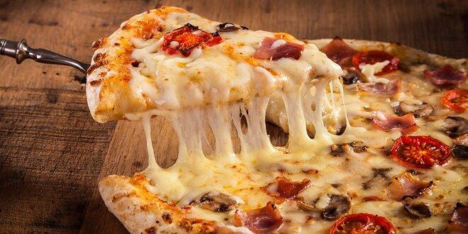 Perfektná pizza v Prešove. Na výber zo 14 druhov!