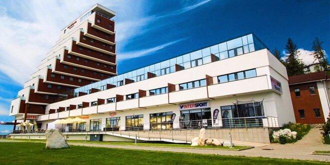 Pobyt v súkromných apartmánoch v resorte PANORAMA Štrbské Pleso, platnosť až do 31.10.2017