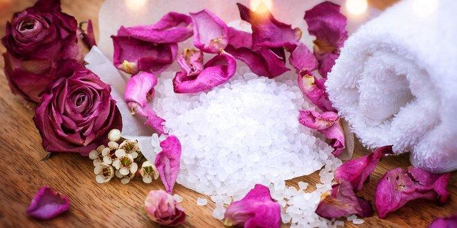 Voňavá soľ do kúpeľa - na výber sedem druhov