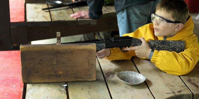 Súťaž v streľbe pre deti aj dospelých!