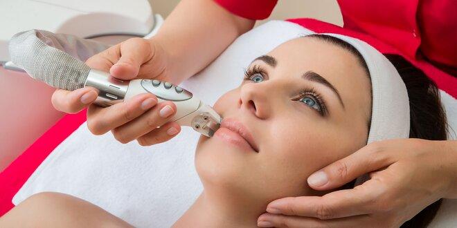 Liftingová masáž tváre s inhaláciou kyslíka