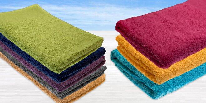Hebké osušky a uteráky zo 100% bavlny