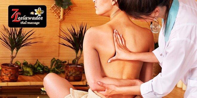 Thajská masáž - dokonalé uvoľnenie