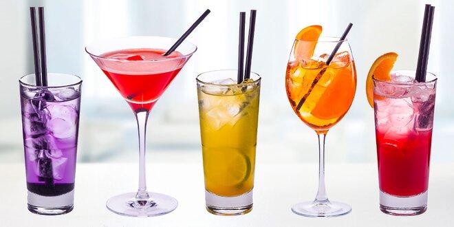 Alkoholické a nealkoholické miešané drinky