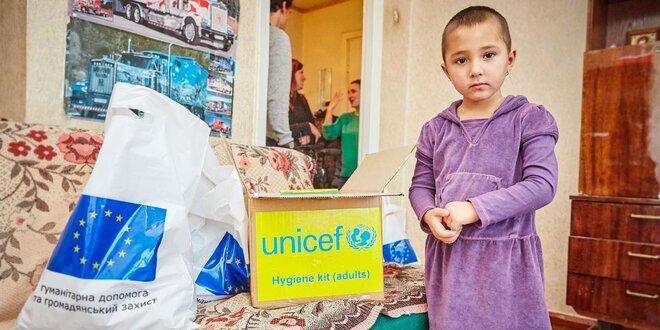 Týždeň modrého gombíka: Pomoc pre Ukrajinu