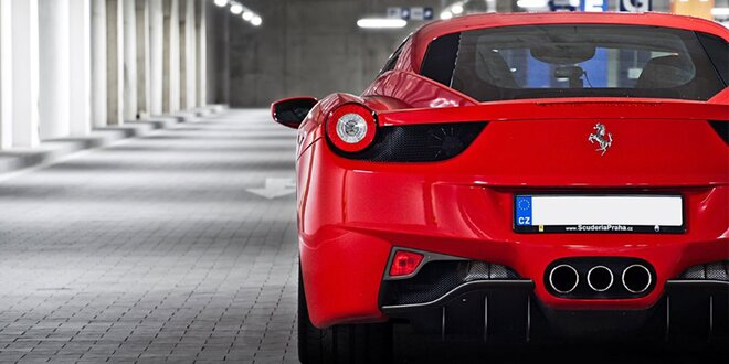 Jazda na Ferrari, Porsche, Lamborghini - adrenalínový zážitok! Palivo v cene!