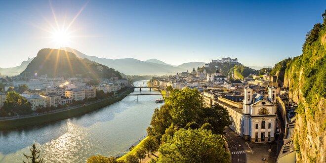 Mesto Mozarta, ochutnávka schnapsu, soľná baňa a Rakúske Alpy