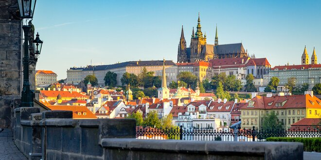 Až 4 dni pre dvoch v Prahe s raňajkami
