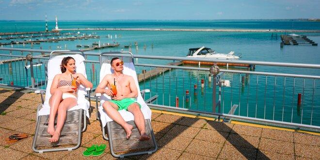 Jarný alebo letný wellness pobyt s polpenziou v srdci Balatonu