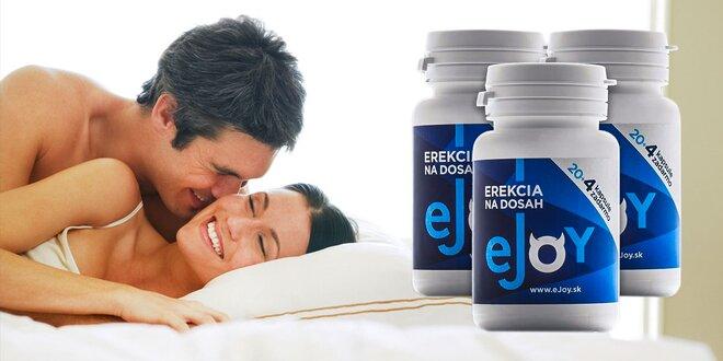 Prírodný stimulant eJoy® pre zlepšenie erekcie