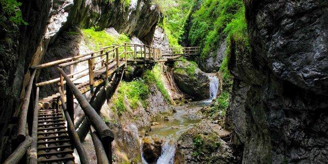Zájazd na Medvediu tiesňavu. Zážitková turistika v Rakúsku!