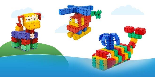 CLICS – ľahká stavebnica pre deti od 4 rokov