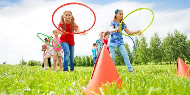 Animačný či športovo-anglický denný tábor