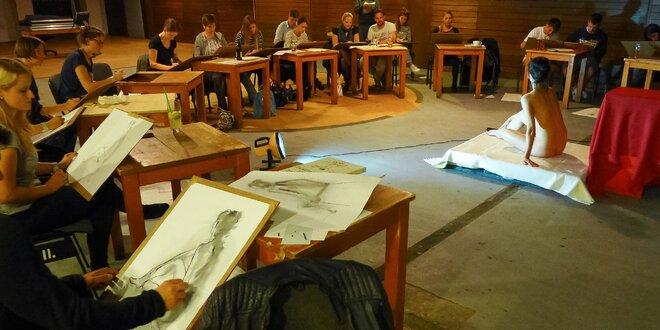 Ateliér AKTU: umelecké kreslenie