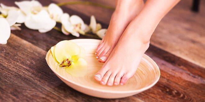 Wellness pedikúra alebo mokrá pedikúra