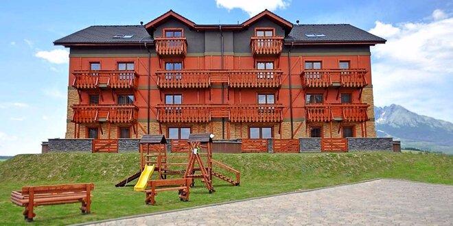 JARNÁ rodinná dovolenka v Tatragolf**** Mountain Resort